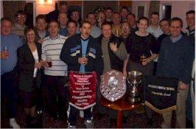 2002 - celebrating in the club