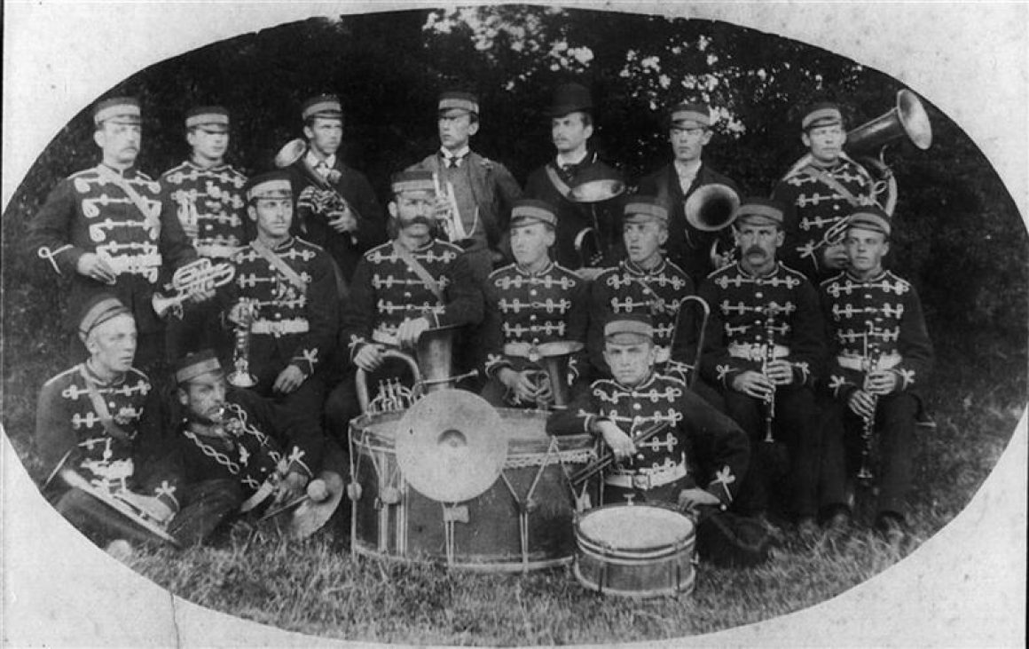 c. 1880 First Band Picture