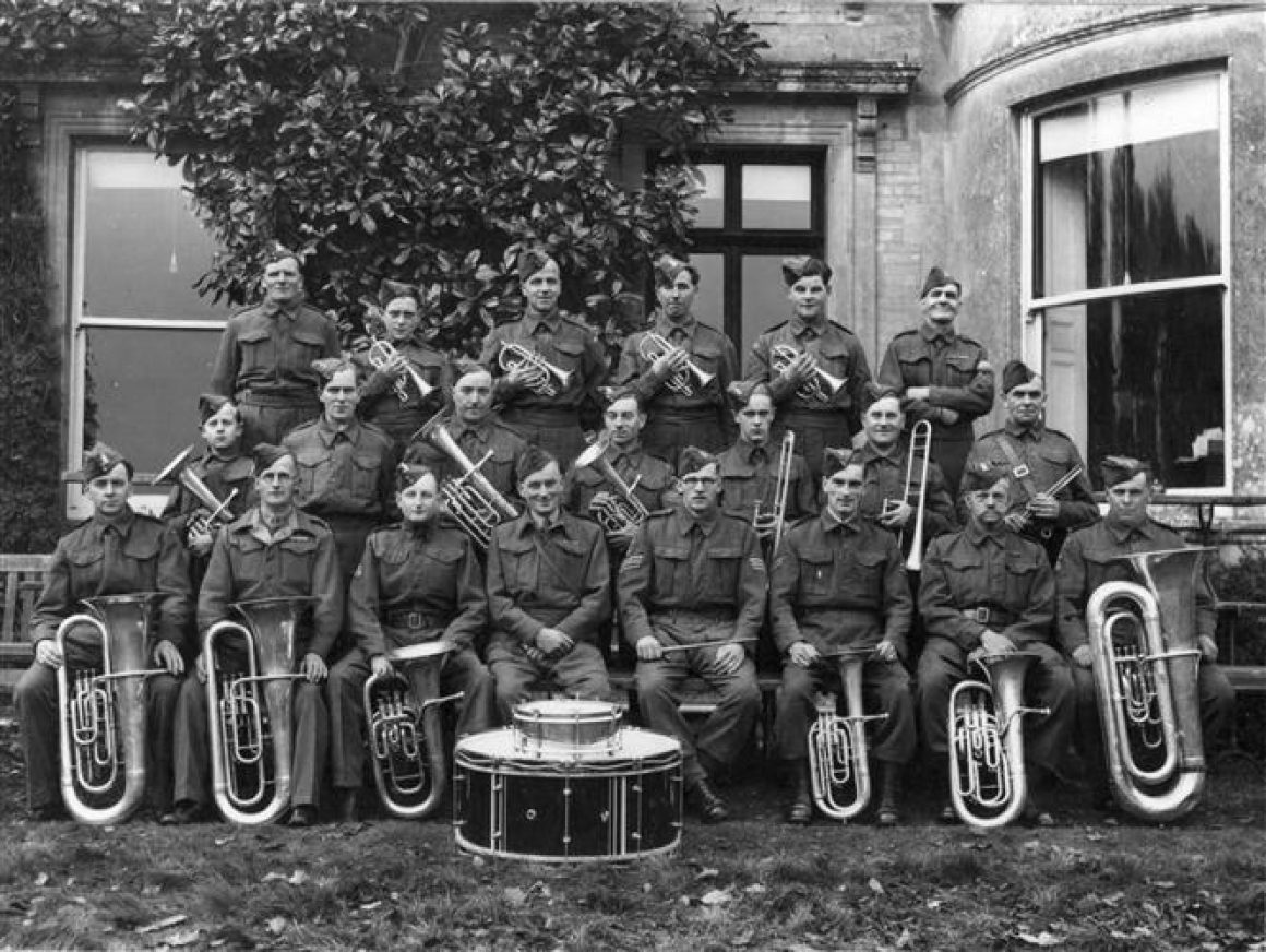 1940 - The Homeguard Band, a mix of Downton and Woodfalls players