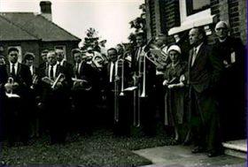 1963 - Band at Chapel