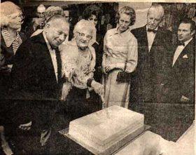 1974 - Centenary Cake